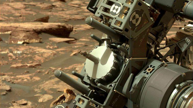 буровое устройство Curiosity