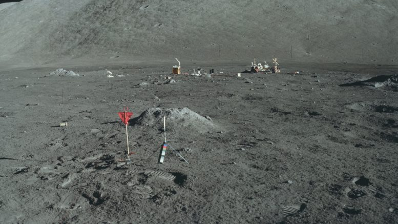 Место посадки Apollo 17