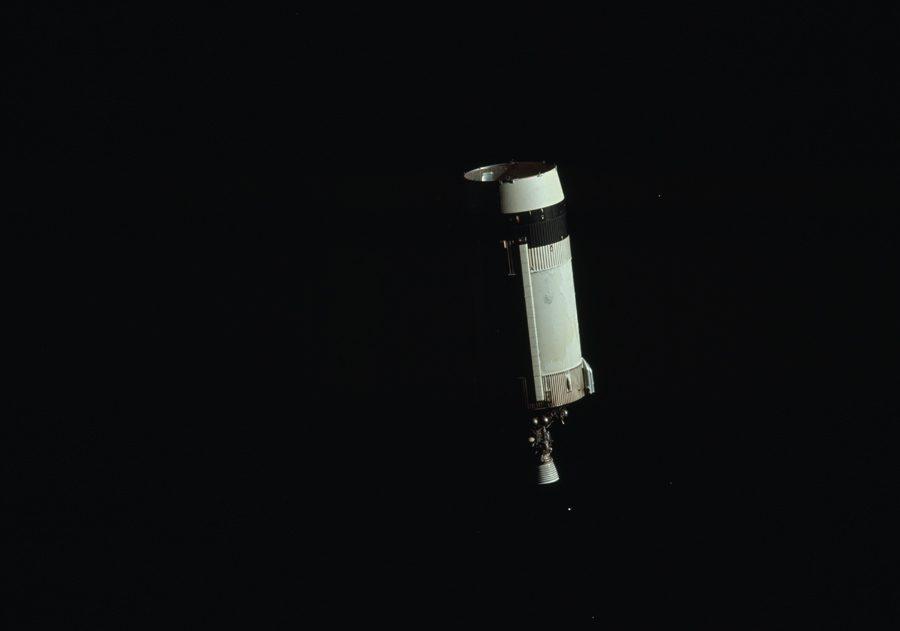 третья ступень ракеты Saturn 5