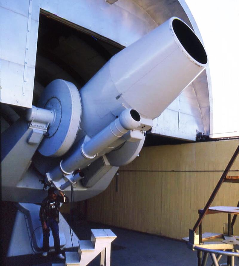 АЗТ-16 Чилийский телескоп Пулковской обсерватории