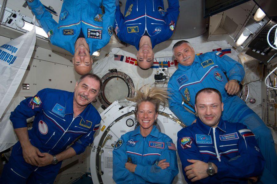 "экипаж экспедиции ""МКС-36"""
