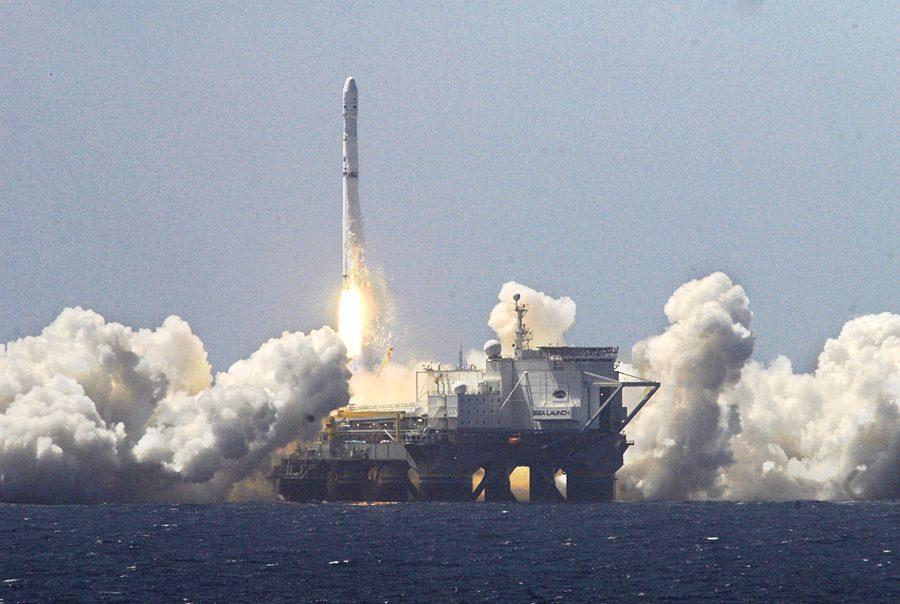 морской запуск ракетоносителя