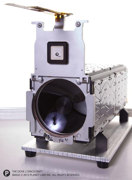 спутник Dove 2 компании Planet Labs