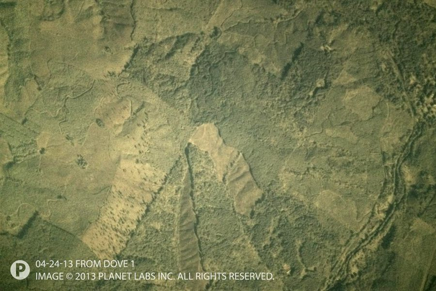 фото Земли из космоса со спутника Dove-1 компании Planet Labs