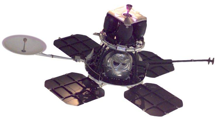 космический аппарат Lunar Orbiter