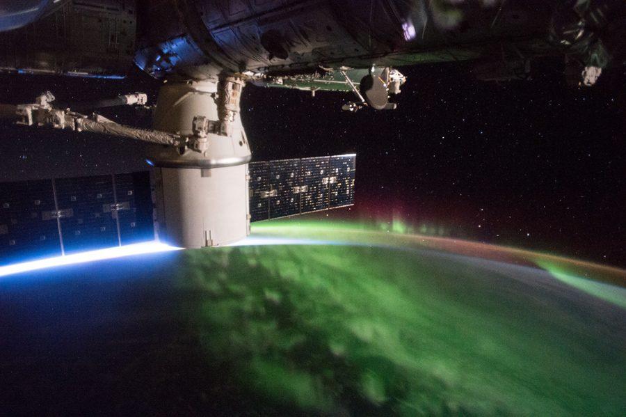 доставка груза на МКС SpaceX CRS-9