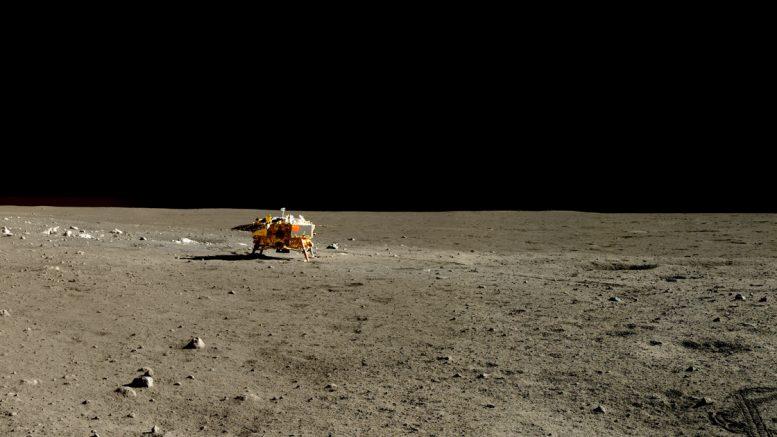 Цветное фото Луны