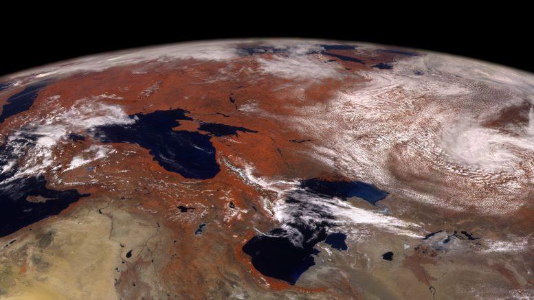 Земля с Электро-Л 2