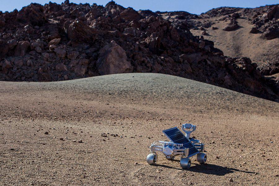 испытания ровера Audi Lunar Quattro
