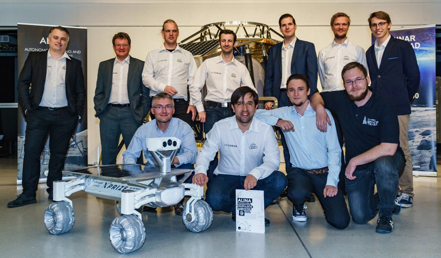 Команда участников Google Lunar XPrise