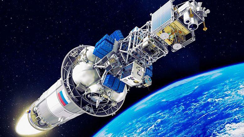 "ракета ""Союз-2.1а"" выводит спутники на орбиту"