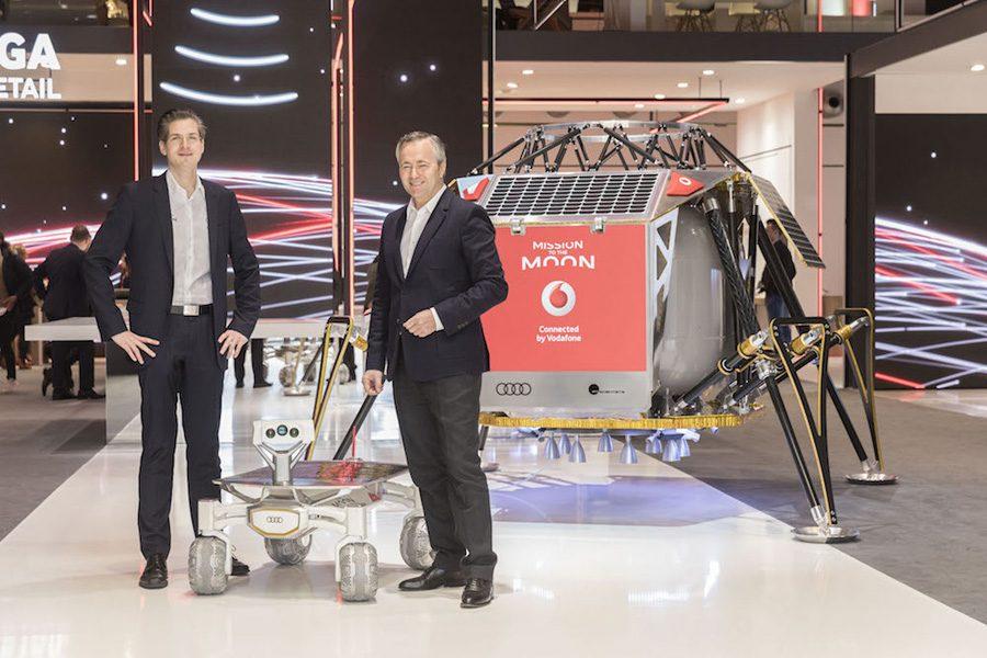 сотрудничество Vodafone и PTScientists на CeBIT 2017