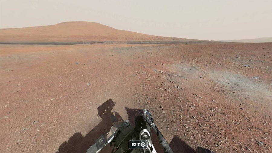 цвет Марса снимок с марсохода Curiosity