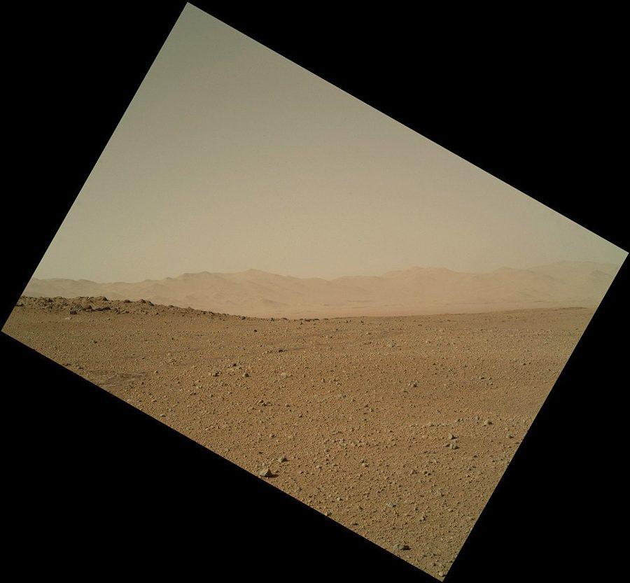 небо на Марсе