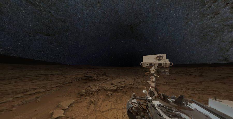 ночной Марс от Андрея Бодрова
