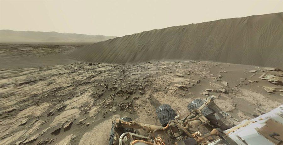 панорама с марсохода Curiosity