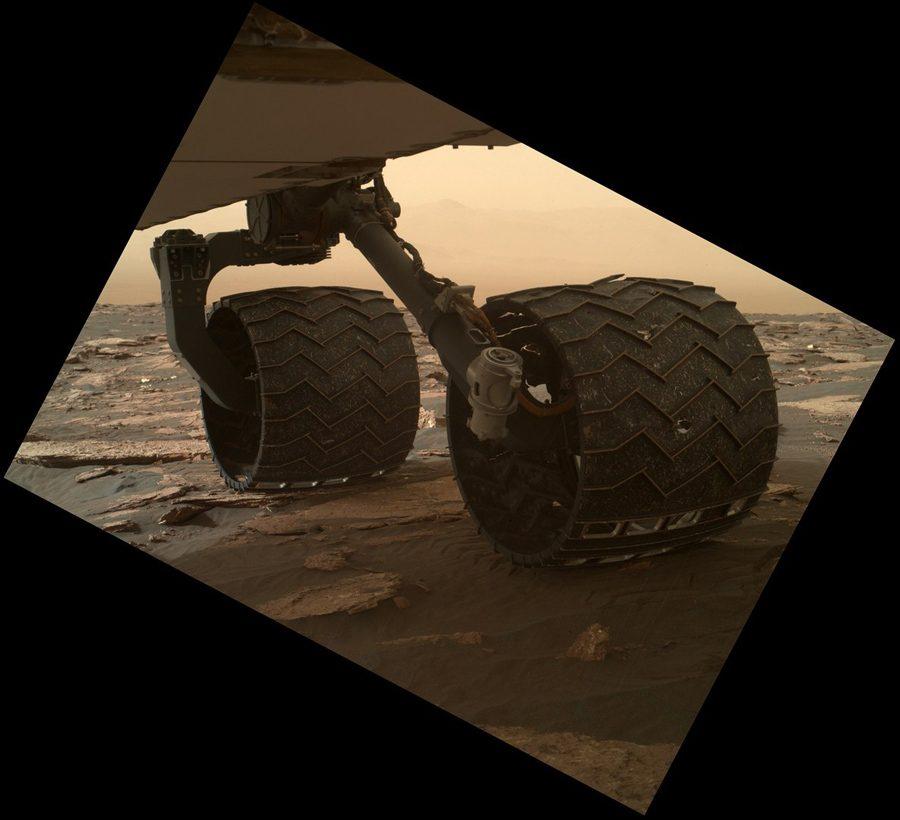 разрушение колес марсохода Curiosity