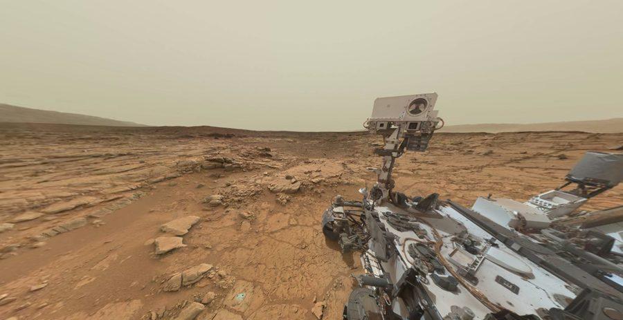 скважина на Марсе