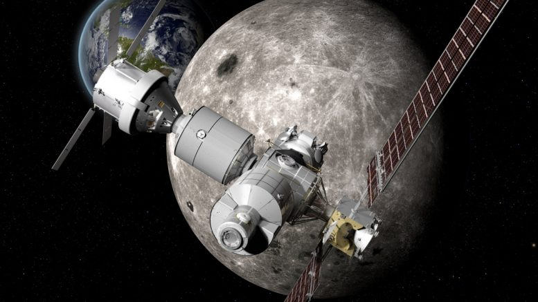 космическая станция Deep Space Gateway