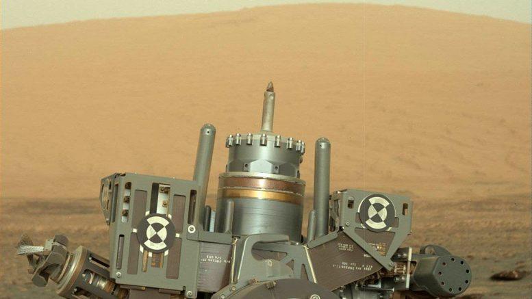 буровое устройство марсохода Curiosity