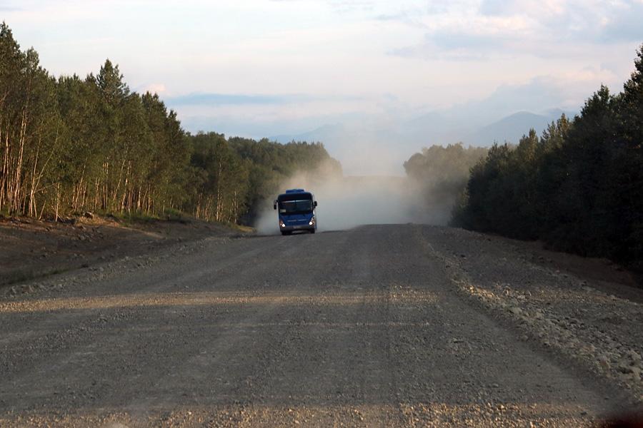 дороги на Камчатке за пределами города