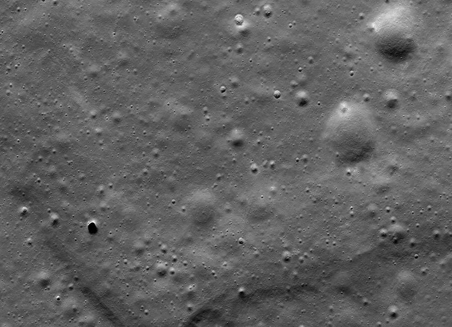 лавовый поток лунного вулкана