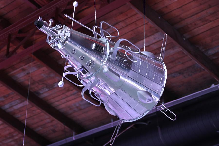 макет третьего советского искусственного спутника Земли на выставке PROКосмос