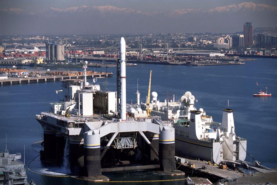 РН «Зенит» на космодроме Sea Launch