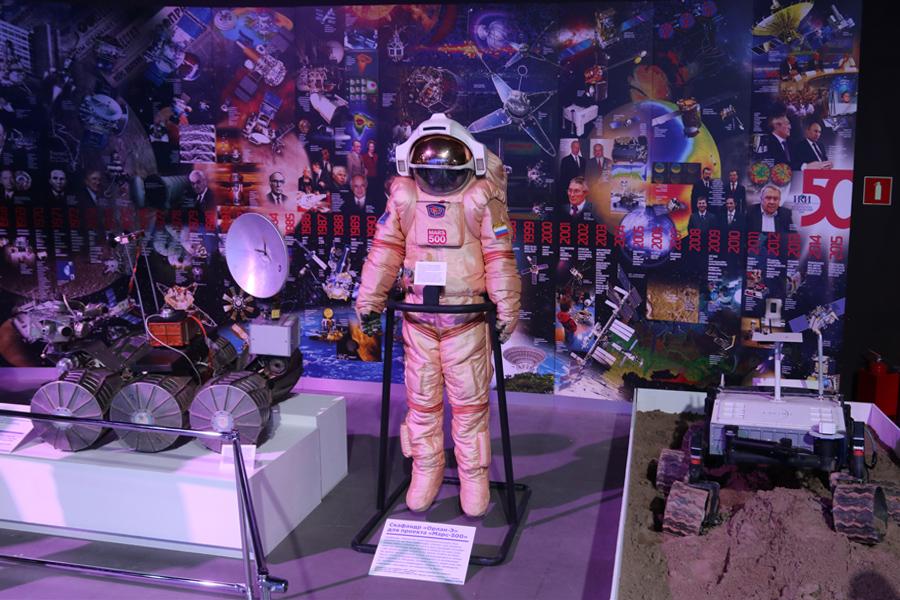 """скафандр для наземного эксперимента """"Марс-500"""" на выставке PROКосмос"""