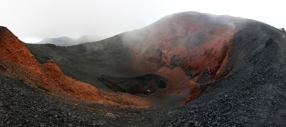 жерло вулкана Плоский Толбачик