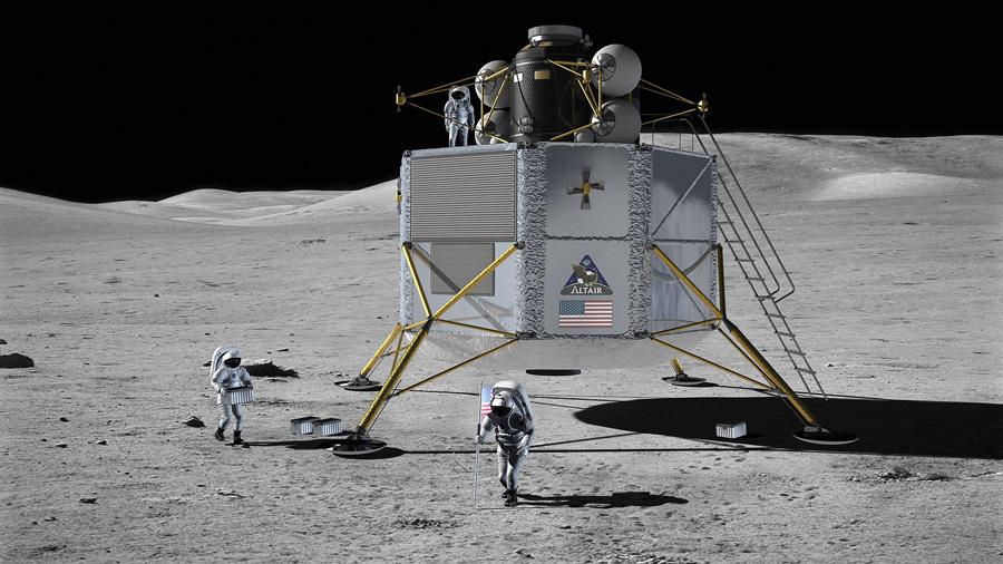 проект лунного посадочного модуля Altair