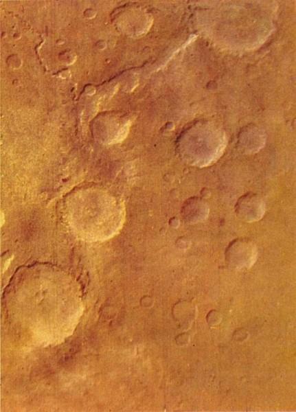 фото поверхности Марса с советского орбитального аппарата «Марс-5»