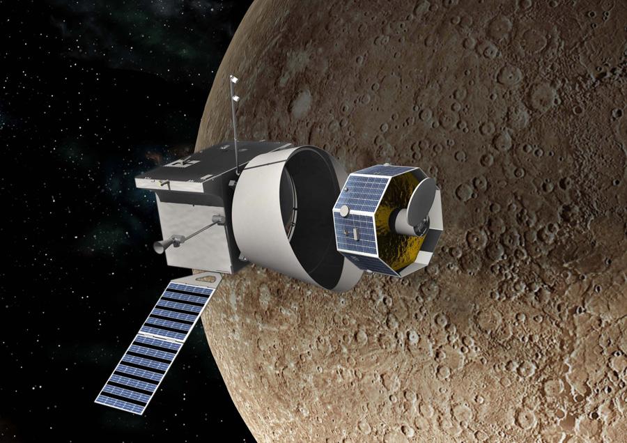 миссия на Меркурий Bepi Colombo