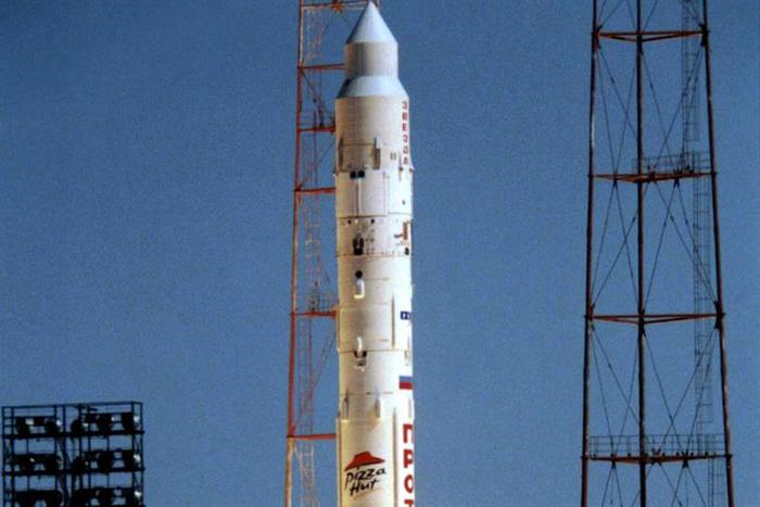 размещение рекламы на ракете