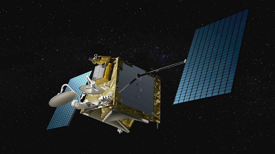 спутник низкоорбитальной спутниковой группировки компании OneWeb