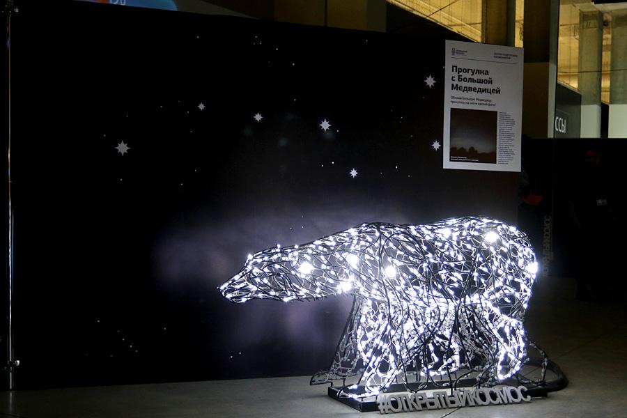 выставка Открытый космос в Саратове: Большая медведица