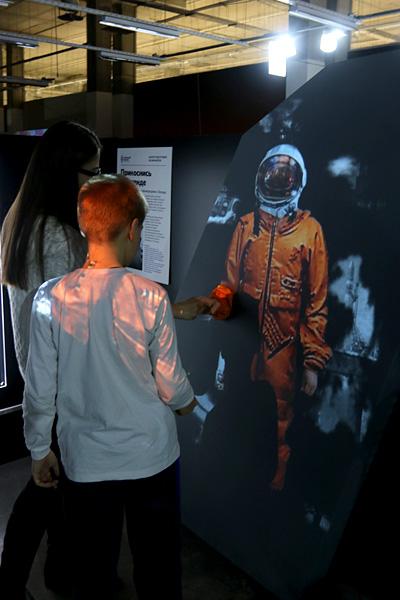 выставка Открытый космос в Саратове: Гагарин
