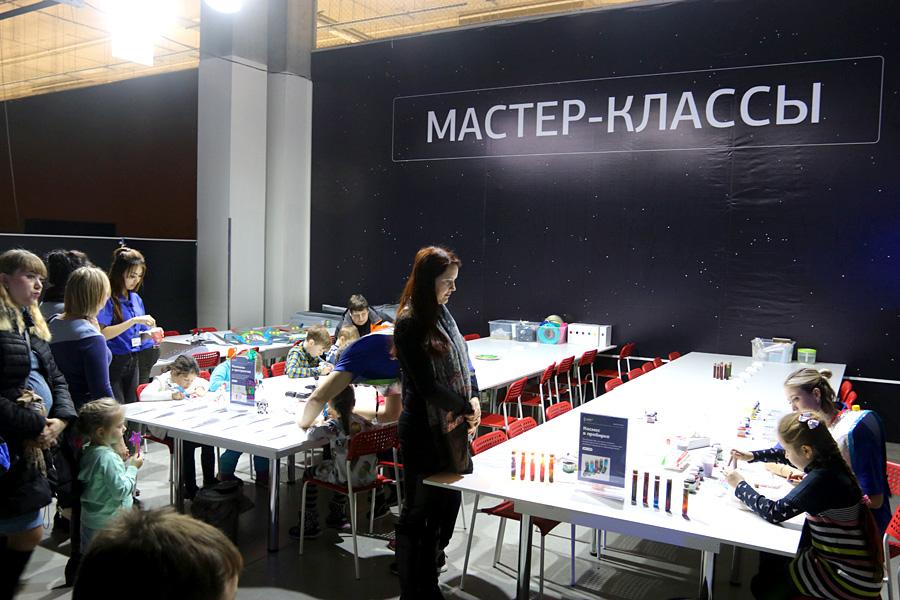 выставка Открытый космос в Саратове: мастер-классы