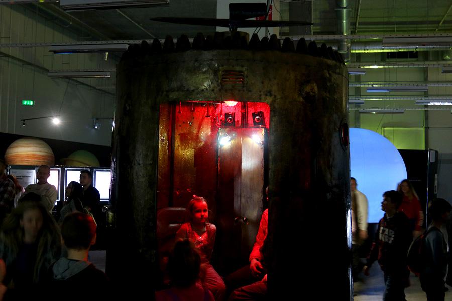 выставка Открытый космос в Саратове: пепелац