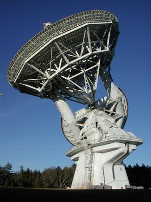 43-метровый радиотелескоп американской обсерватории Green Bank