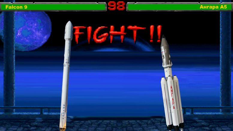 Ангара vs Falcon-9