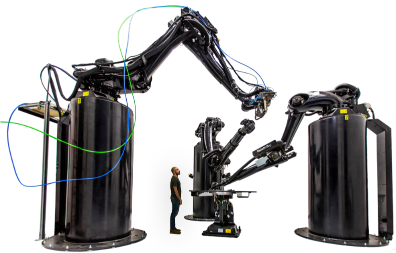 3D-принтер разработанный на базе роботов Kuka
