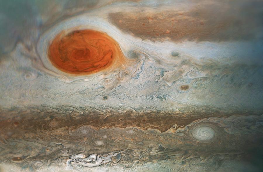 красное пятно Юпитера
