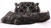 объект распечатанный на 3D-принтере из металла с метеорита
