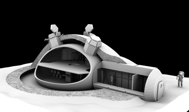 проект лунной научной станции
